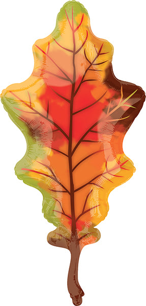 Autumn Leaves Mylar Balloon