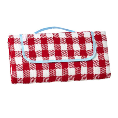 Red Checkered Picnic Blanket