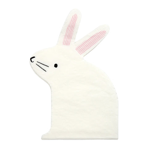 Easter bunny paper napkins
