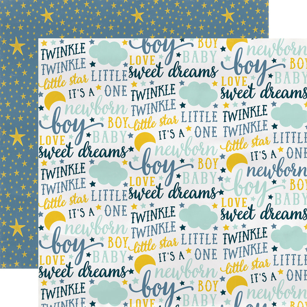 Party Paper Placemat in Sweet Dreams Print