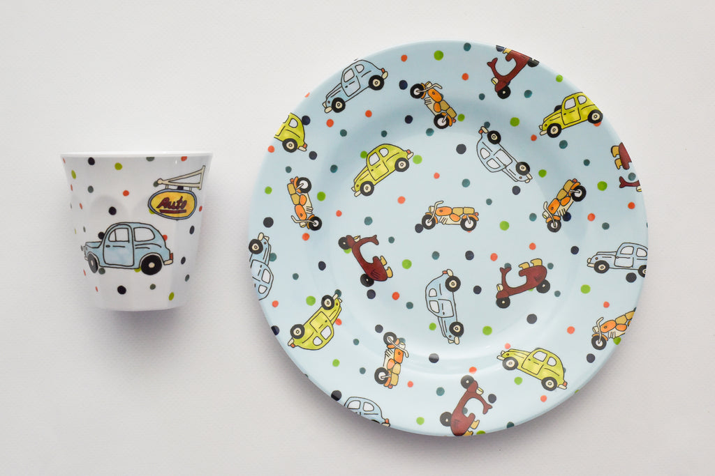 Car Place Setting Set