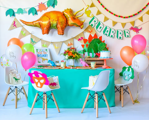 """Let the World Hear You ROAR!"" Dinosaur Birthday Bundle"