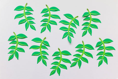 Green Leaves (9-pack)
