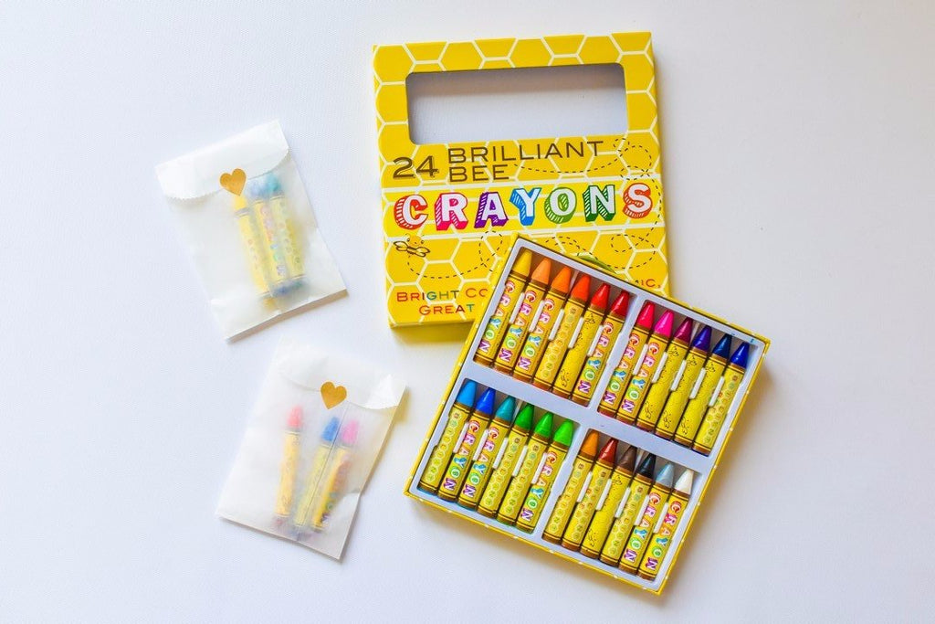 Crayons for party favors
