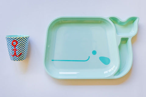 Little Whale Place Setting Set