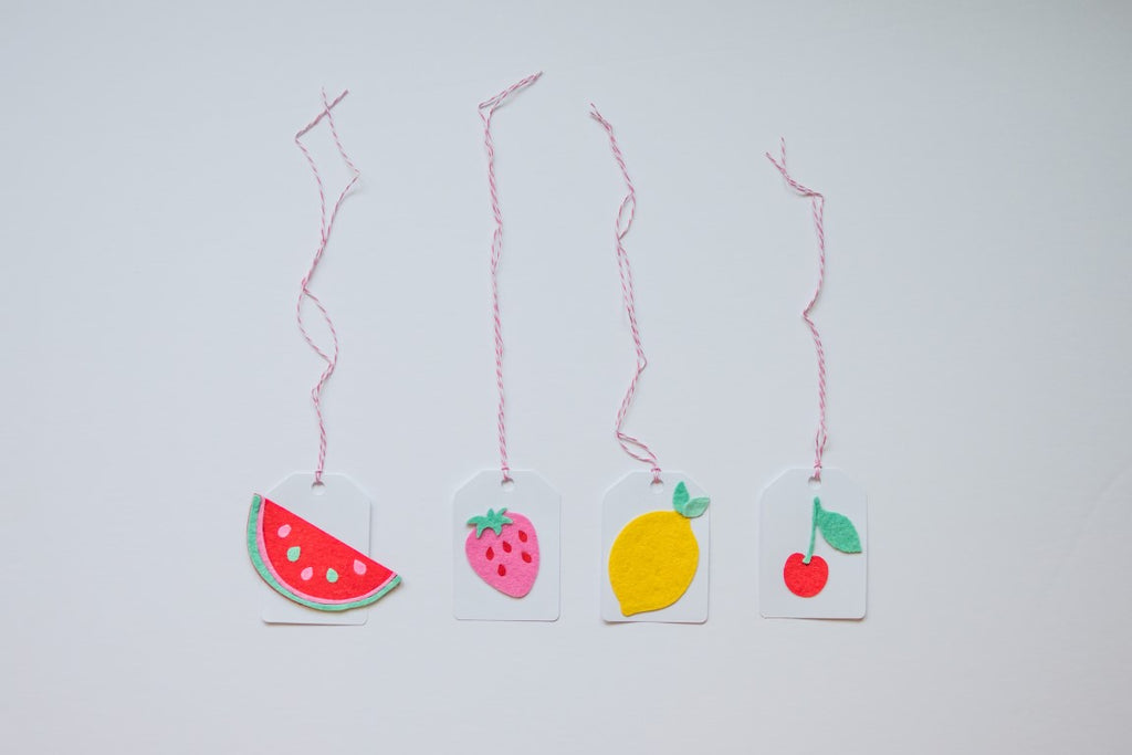Lemonade Party Drink Tags Handmade by Sugar Moon Bloom
