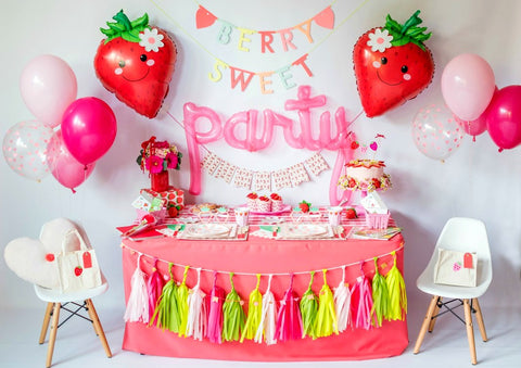 """Life is Berry Sweet"" Strawberry Picnic Birthday Bundle"