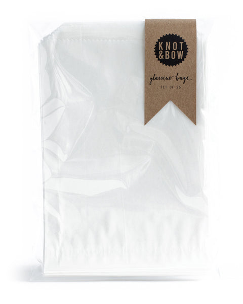 Glassine Favor Bags (25-pack)