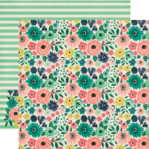 Party Paper Placemat in Bloom Print