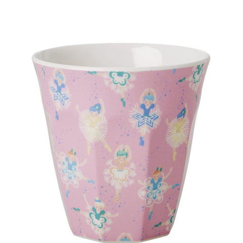Toddler Small Melamine Cup in Ballet Dancer Print