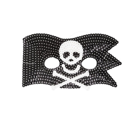 Pirate Sequin Mask