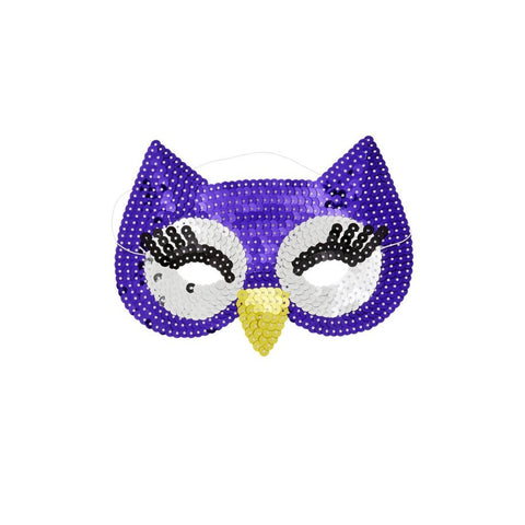 Sequin Play Mask
