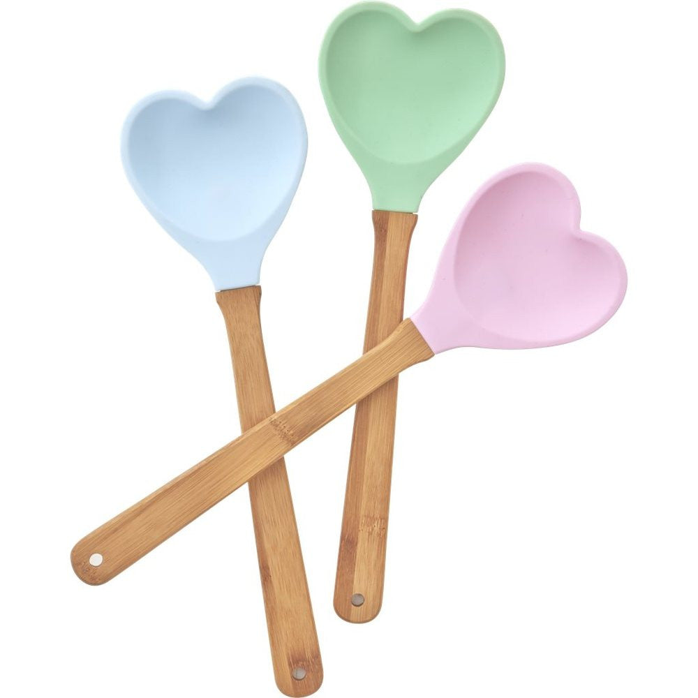 Heart Shaped Spoon in Assorted Colors