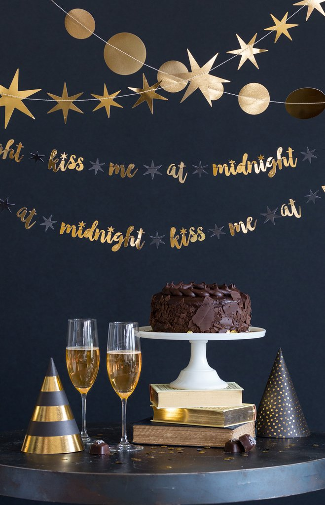 "New Year's Eve Banner in ""Kiss Me At Midnight"""