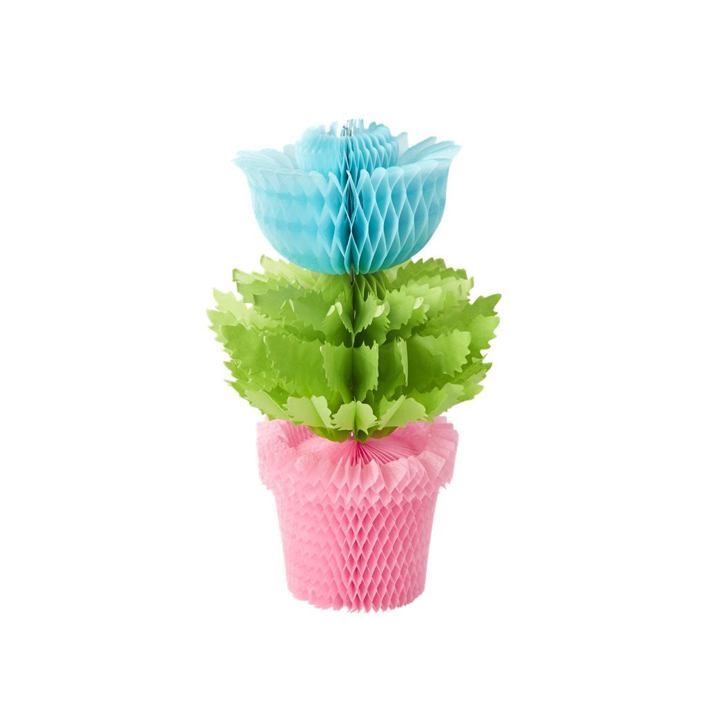 Honeycomb Flowerpot Decoration
