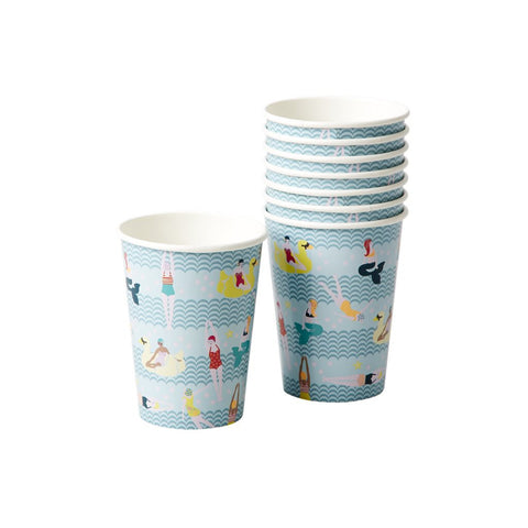 Mermaid and Swimster Paper Cups