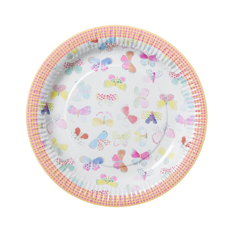 Butterfly Paper Plates