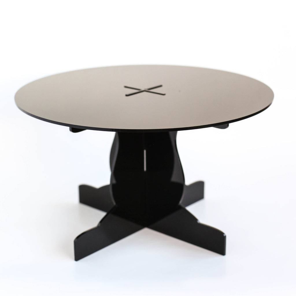 Acrylic Cake Stand in Midnight Black