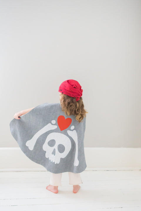 Pirate Cape + Bandana