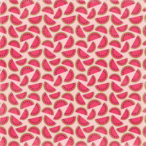 Party Paper Placemat in Watermelon Print
