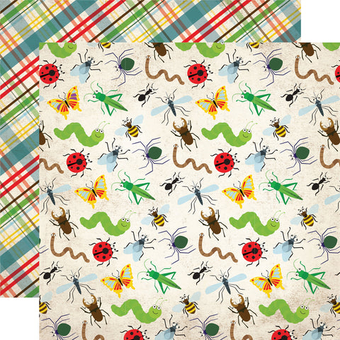Party Paper Placemat in Bug Print
