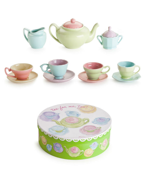 Porcelain Child's Tea Time Collection
