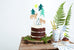 Little Adventures Cake Party Toppers