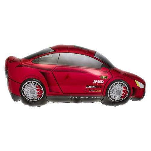 Sports Car Mylar Balloon