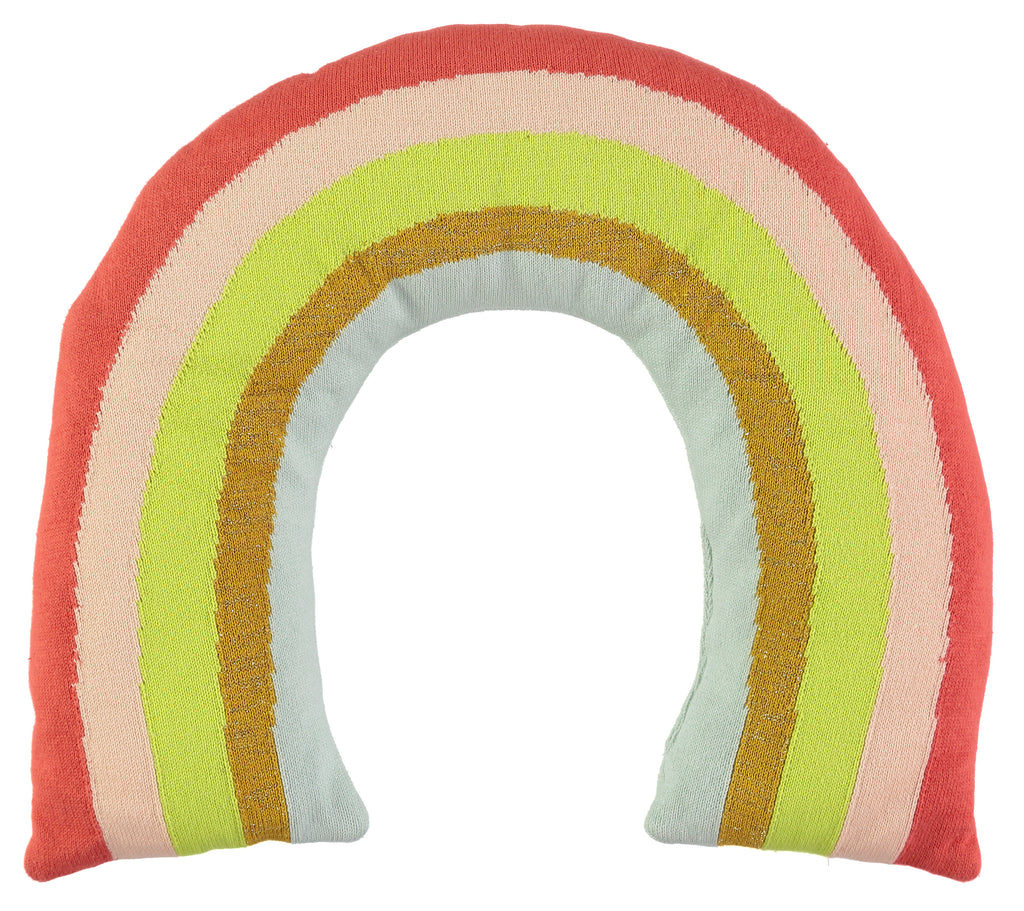 rainbow stuffed toy pillow