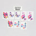 In Bloom Tattoos Floral Party Packet (8-pack)