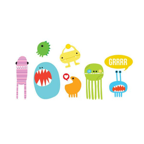 Monster Fun Tattoos Party Packet (8-pack)