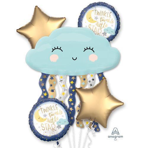 Twinkle Twinkle Little Star Mylar Balloon Bouquet