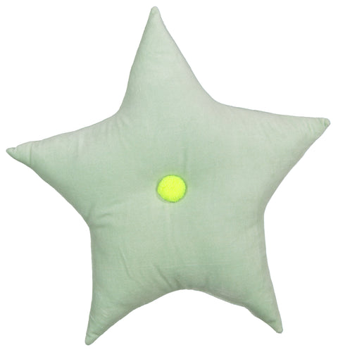 mint velvet star pillow