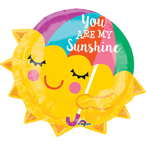 """You Are My Sunshine"" Mylar Balloon"