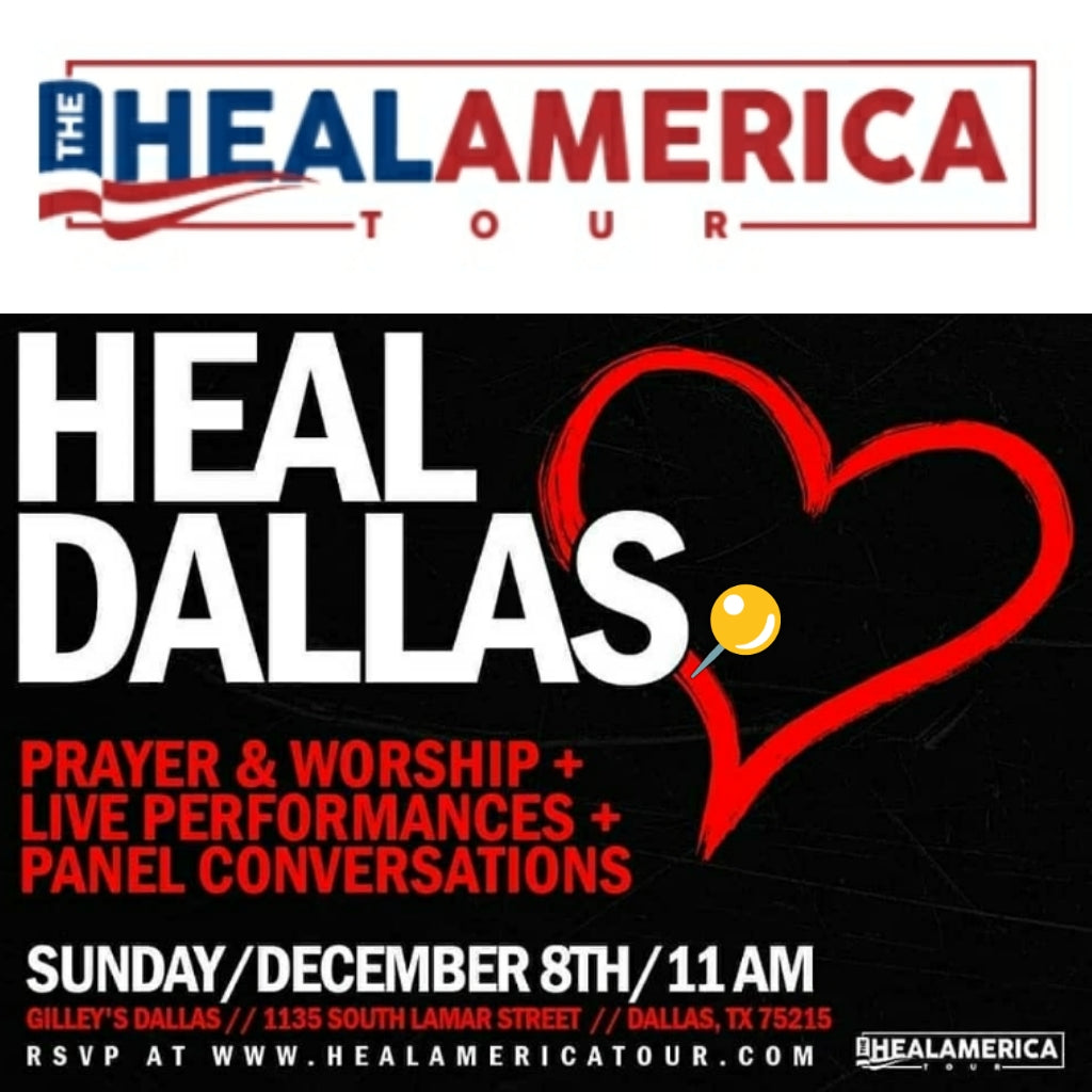THE HEAL AMERICA TOUR