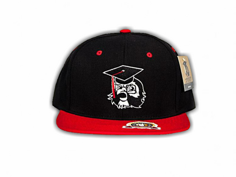 Black F.O.M.U. Snapback w/ Red Bill
