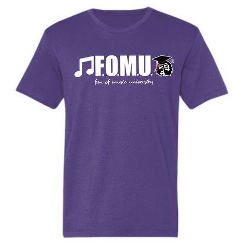 Academy Purple Lightweight F.O.M.U. Fashion Short Sleeve T-Shirt