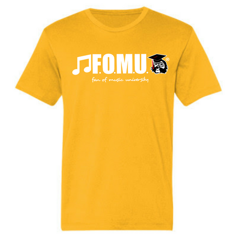 Academy Gold Lightweight Fashion F.O.M.U. Short Sleeve T-Shirt