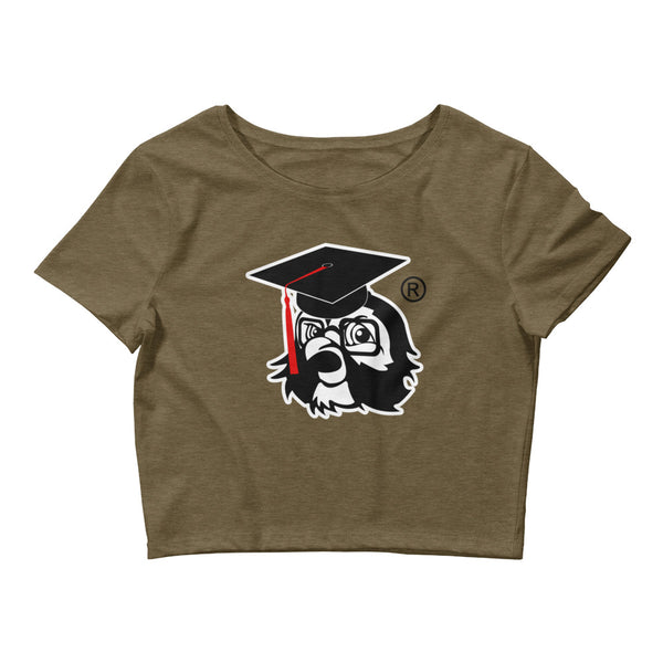Women's Fan of Music University Crop Tee