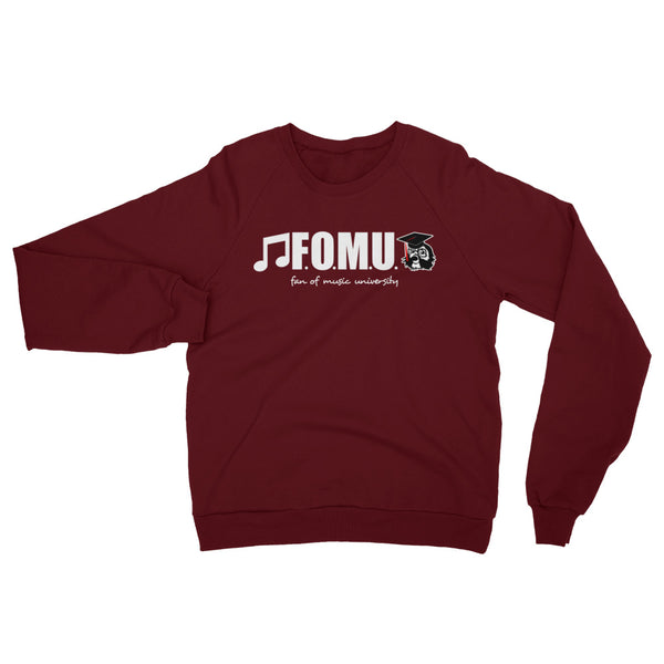 Fan of Music California Fleece Raglan Sweatshirt