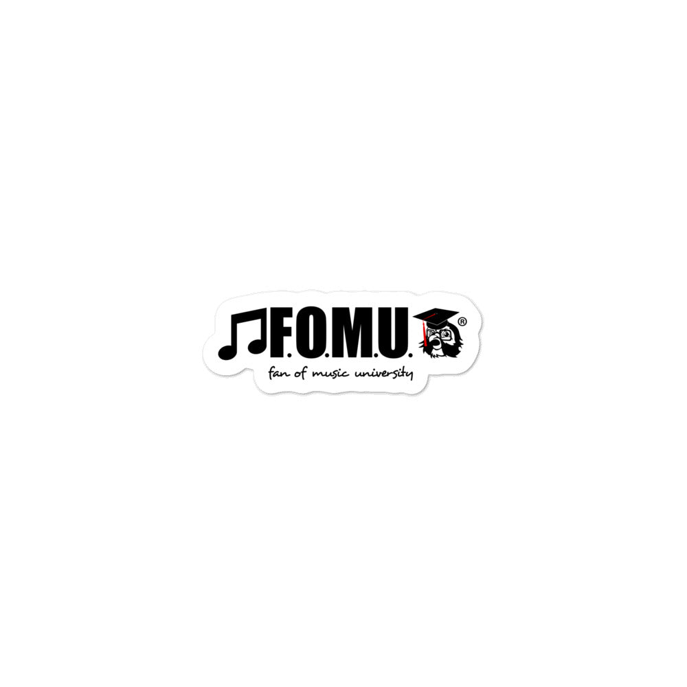 F.O.M.U. Bubble-Free Stickers
