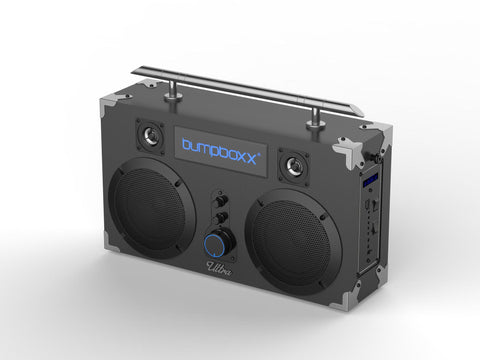 BUMPBOXX ULTRA BLUETOOTH BOOMBOX Grey