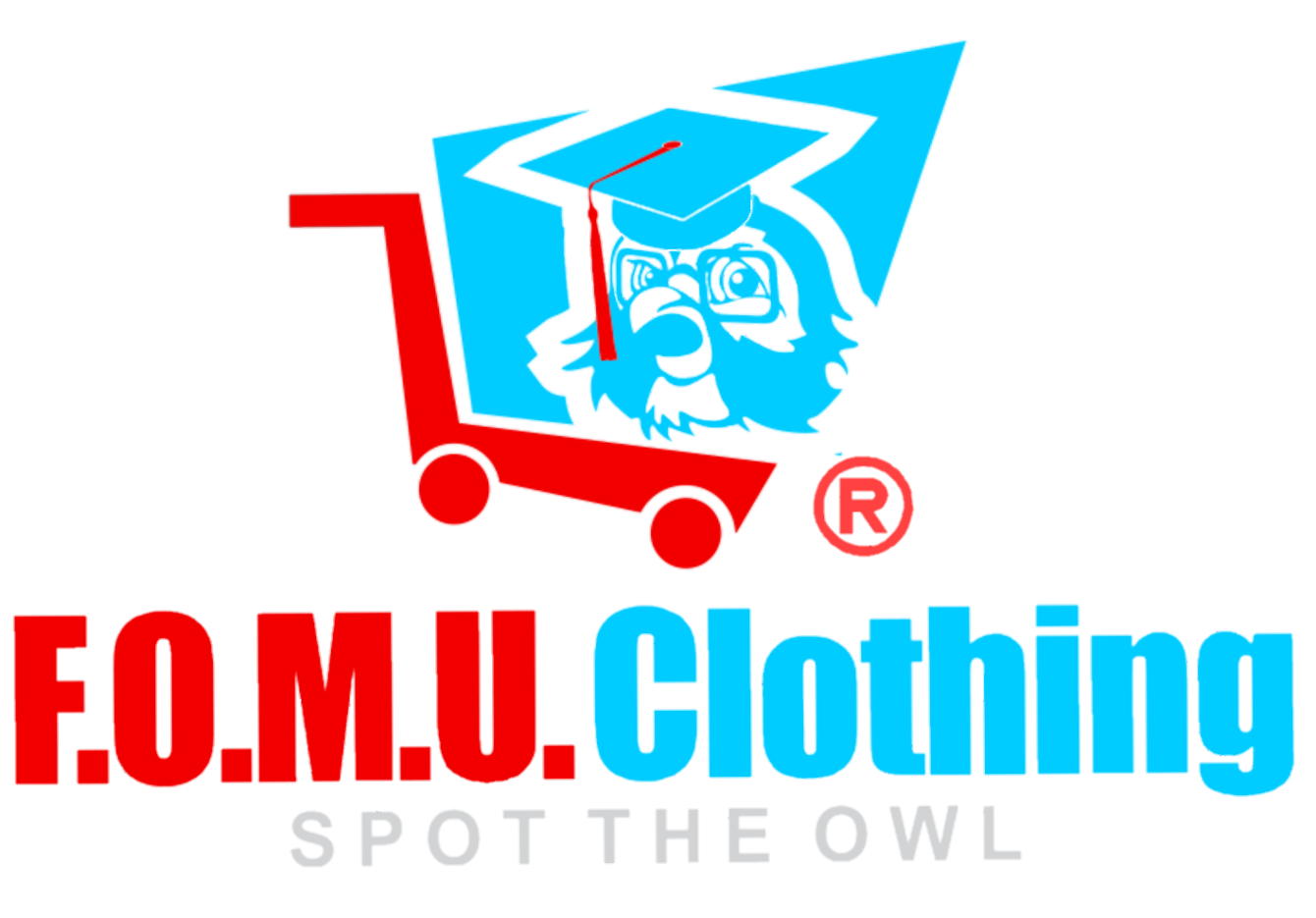 F.O.M.U. = Fan of Music University Clothing ®️