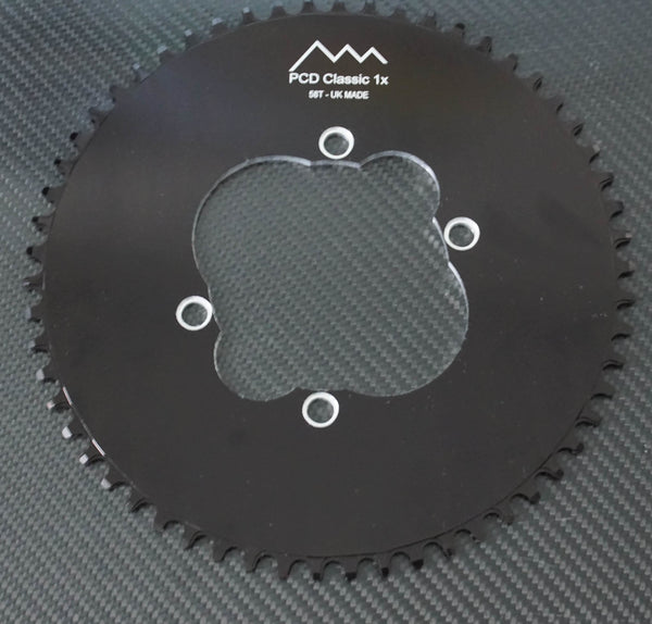 Pyramid Single 1x Aluminum Chainrings