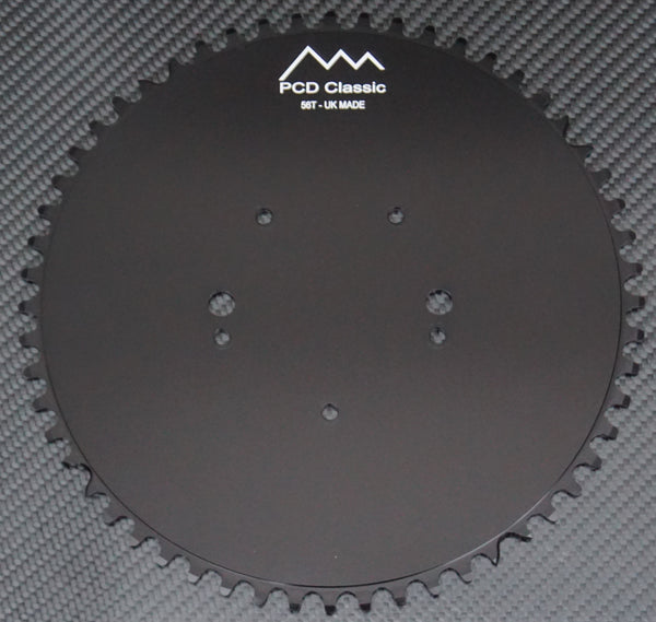 Pyramid Double 2x Aluminium Chainrings