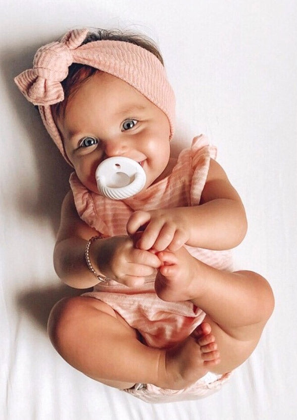 Baby with Paci
