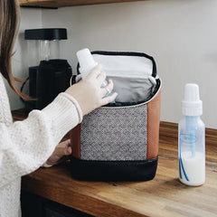 bottle and breast pump bag