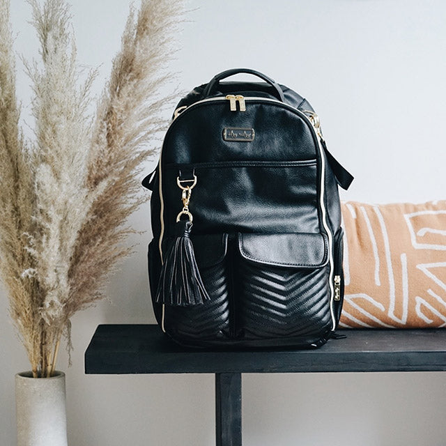 Jetsetter Boss Backpack with vegan leather