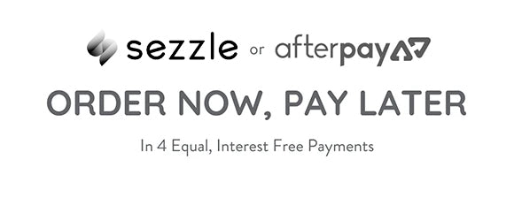 split payments with Sezzle and Afterpay