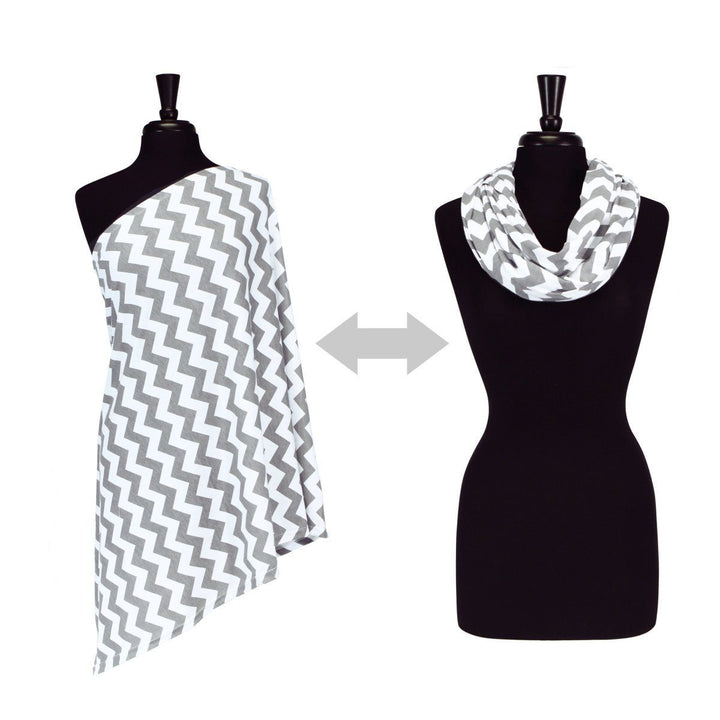 Nursing Happens Infinity Breastfeeding Scarf